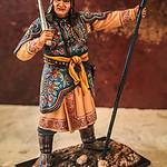 Mongol Standard Bearer with Sword-AeroArt-St Petersburg Collection-MN3 img2