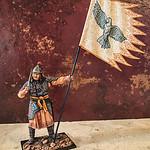 Mongol Standard Bearer with Sword-AeroArt-St Petersburg Collection-MN3 img1