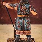 Mongol Standard Bearer with Sword-AeroArt-St Petersburg Collection-MN3 img3