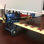 'Stars and Stripes' SPAD XIII, 94th Aero Squadron, USAS Nieuwied Germany 1919, Lt  Reed Chambers-John Jenkins Designs-IWA-04 img 2