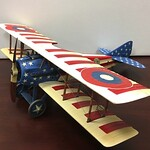 'Stars and Stripes' SPAD XIII, 94th Aero Squadron, USAS Nieuwied Germany 1919, Lt  Reed Chambers-John Jenkins Designs-IWA-04